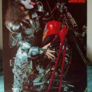 Gene Simmons of KISS on a chopper poster 31 x 21 HTF repro