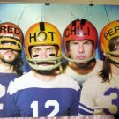 Red Hot Chili Peppers football helmets POSTER 34 x 23.5 good gift SHIP FROM USA