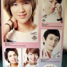 Shinee biodata collage POSTER Taemin Onew &ship frm USA