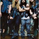 Black Label Society green bkgrnd POSTER 23.5 x 34 Zakk Wylde &SHIP FROM USA