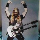 Zakk Wylde enraged guitar poster Black Label Society
