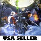 The Nightmare Before Christmas colorful POSTER 34 x 23.5 Tim Burton movie