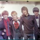 Shinee light brown POSTER Korean boy band Taemin Onew