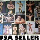 Bodybuilding collage POSTER incl Arnold Schwarzenegger 34 x 23.5 muscle poses