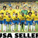 Brazil 2014 team photo #B POSTER 34 x 23.5 Neymar Julio Cesar soccer football