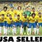 Brazil 2014 team photo #B POSTER 34 x 23.5 Neymar Julio Cesar soccer football