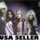 Guns n' Roses classic lineup dark bkgrnd matte POSTER 28 x 19.5 Axl Rose Slash