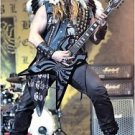 Zakk Wylde in native American garb POSTER 23.5 x 34 Black Label Society frontman