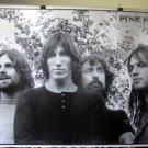 Pink Floyd b&w poster as they looked in early 70s HTF