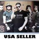 Avenged Sevenfold standing horiz poster 34 x 23.5 A7X metalcore &SENT FROM USA