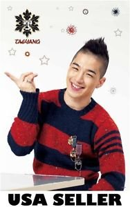 Bigbang Tae Yang standing vert POSTER 23.5x34 Korean boy band Big Bang Taeyang