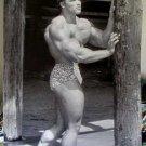 Arnold Schwarzenegger 70s full-body bodybuilding poster
