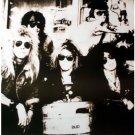 Guns n' Roses b&w keg party matte POSTER 23.5 x 34 Axl Rose Slash &SHIP FROM USA