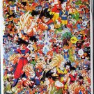DragonBallz extremely busy POSTER 14.5 x 21 very detailed Dragon Ball DragonBall