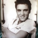 Elvis Presley early casual b&w poster HTF &ship from US