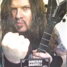 Dimebag Darrell Abbott tribute POSTER 23.5 x 34 Pantera Damageplan SHIP FROM USA