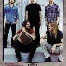 Foo Fighters tin roof building poster 23.5 x 34 Dave Grohl Pat Smear Nirvana