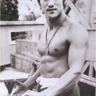 Bruce Lee black & white shirtless POSTER 21 x 31 martial arts karate movie star