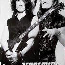 Aerosmith Joe Perry & Steven Tyler black & white POSTER 14.5 x 21 higher qual