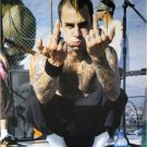 Blink 182 poster 20 x 28 Travis Barker flipping off the world with both hands