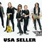 Aerosmith more recent white bkgrnd poster 34 x 23.5 Steven Tyler Joe Perry older