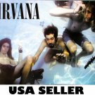Nirvana 3 in pool POSTER 21 x 14.5 Kurt Cobain Nevermind era Dave Grohl nice