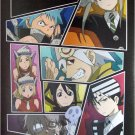 Soul Eater black bkgrnd collage POSTER 15 x 20.5 Japanese anime Souleater