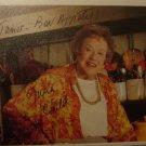 Julia Child 4x6 Signed