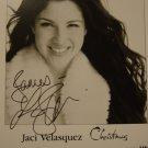 Jaci Velasquez 8x10 Signed