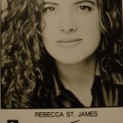 Rebecca St.James 8x10 Signed