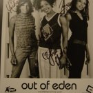 Out of Eden 8x10 Signed