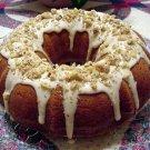 Homemade Pumpkin Raisin Rum Cake