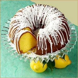 Homemade Lemon Pound Bundt Cake