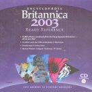 Encyclopedia Britannica 2003 Ready Reference CD-ROM