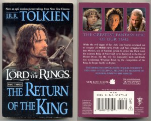 Lord of the Rings LOTR The Return of the King paperback