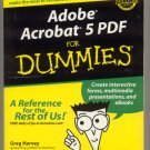 Adobe Acrobat 5 Pdf for Dummies book