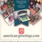 American Greetings Half-Fold Blank Photo Greeting Card Paper