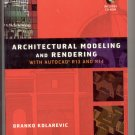 Architectural Modeling and Rendering With Autocad book and CD CAD computer aided drafting