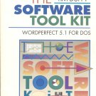 Tim Duffy Software Tool Kit: WordPerfect 5.1 for DOS paperback book