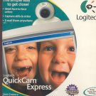 Logitech QuickCam Express web cam camera