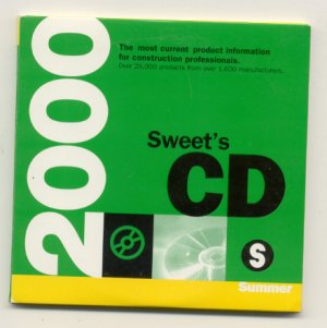 2000 Sweets CD catalog construction materials