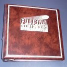 """3"""" 3 ring binder for football cards"""