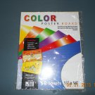 "11"" x 14"" Mutlicolor Poster Board (10/Pack) - new"