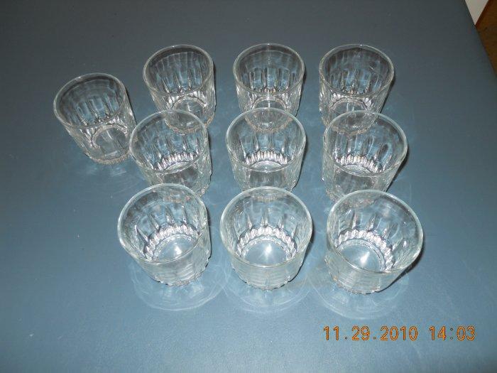 set of 12 glasses - 10 oz.