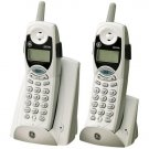 GE 27934GE1 2.4 GHz Cordless Phone With Call Waiting Caller ID & Dual Handsets (White)
