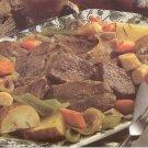 Sunday Pot Roast recipe card