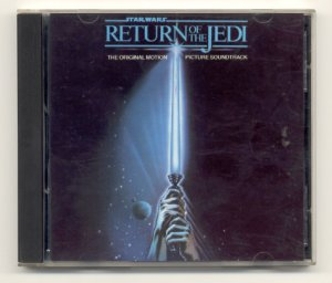 Star Wars Return of the Jedi [Original Soundtrack] CD by John Williams so rare it's not on eBay.