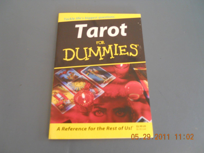 tarot for dummies paperback