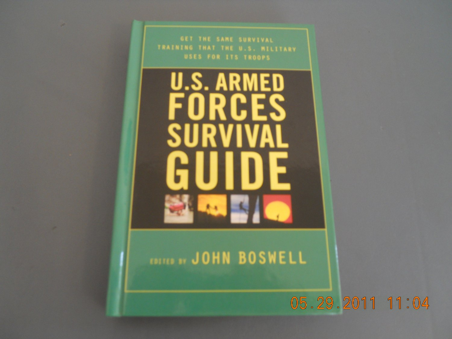 U.S. Armed Forces Survival Guide hardcover