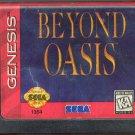 Beyond Oasis - Sega Genesis